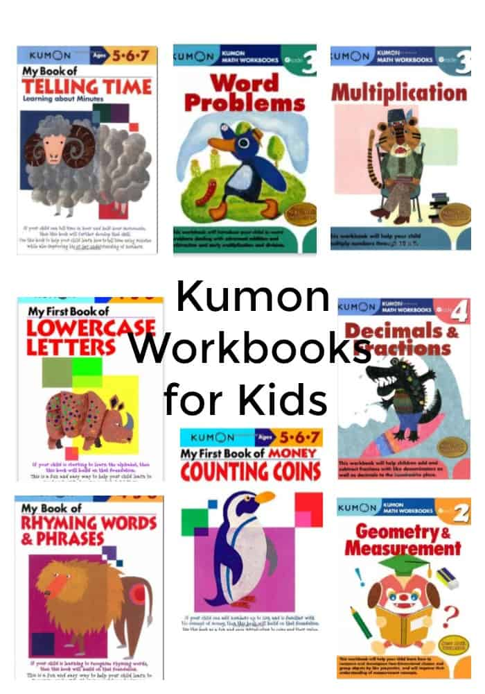 Kumon Workbooks for Kids
