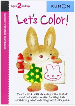 Kumon Educational Preschool Workbook Let's Color