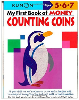 Kumon Educational Workbook Counting Coins Money