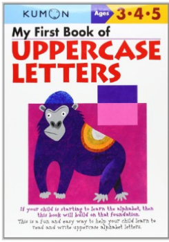 Kumon Educational Workbook Uppercase Letters Alphabet