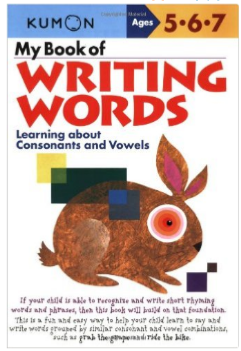 Kumon Educational Workbook Writing Words Language Arts
