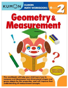 Kumon Educational Workbook Math Geometry and Measurement