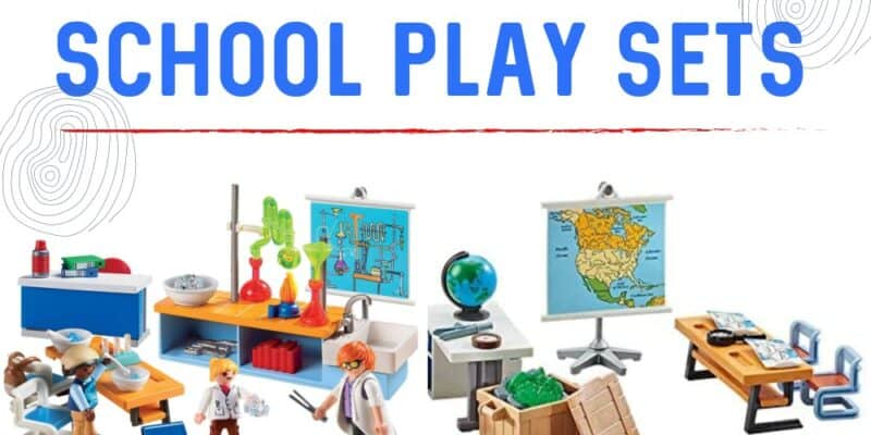 Playmobile school play sets