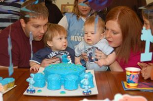 blues clues birthday party cake