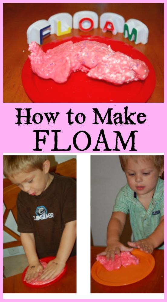 How to Make Floam recipe tutorial
