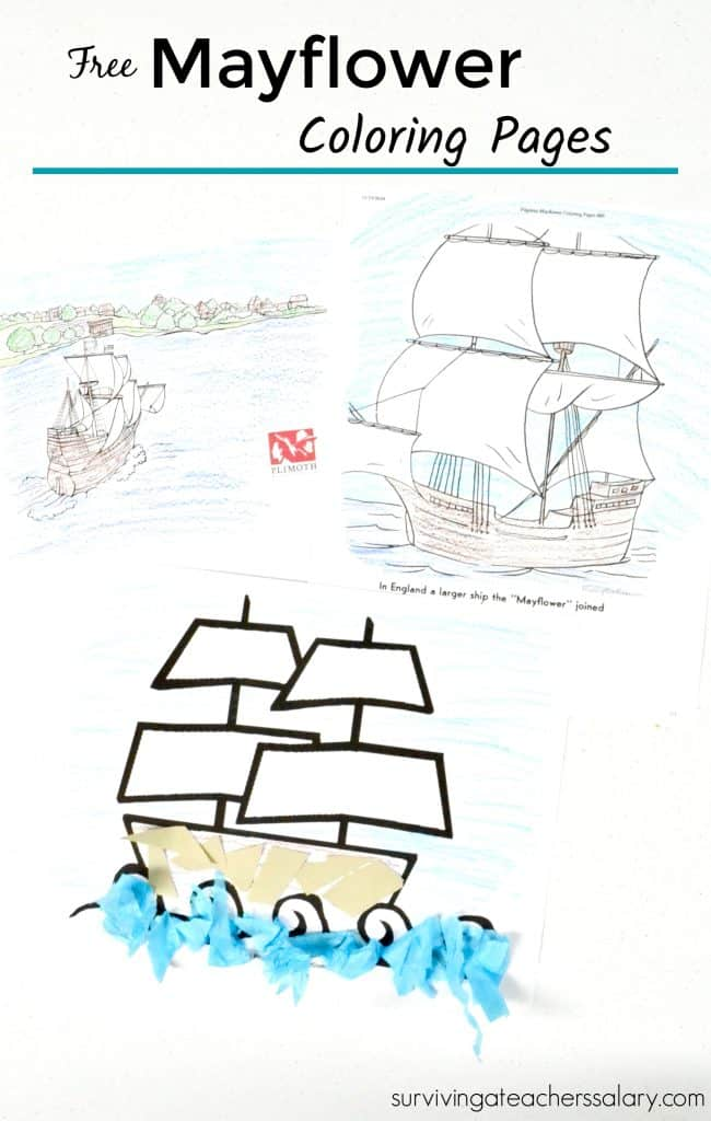 It is a graphic of Impertinent mayflower coloring page