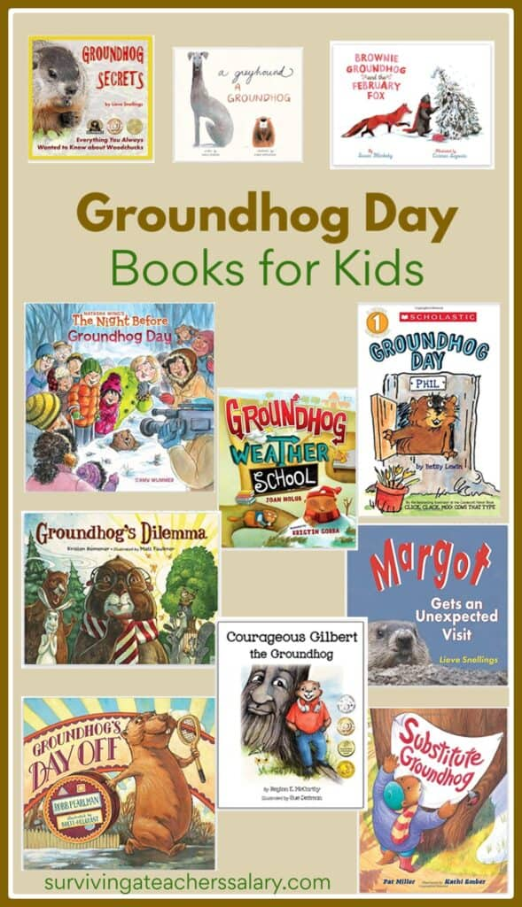 18 Groundhog Day Books for Kids