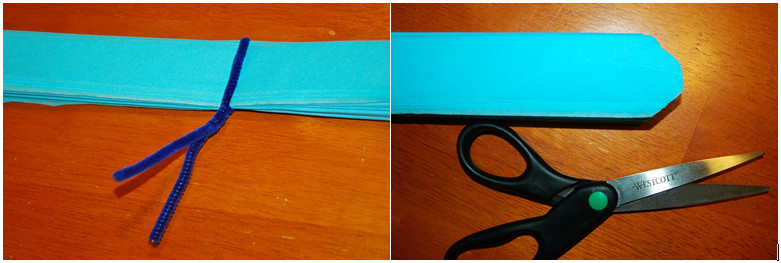 folded tissue paper truffula tree lorax