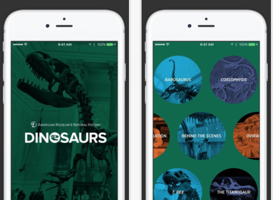FREE Dinosaurs: The American Museum of Natural History Collections App for iPhone, iPod, and iPad