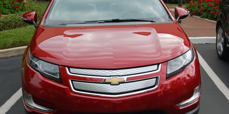Chevy Cruze red car