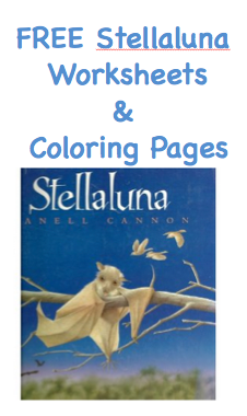FREE Stellaluna Printable Activity Sheets Surviving A Teachers Salary