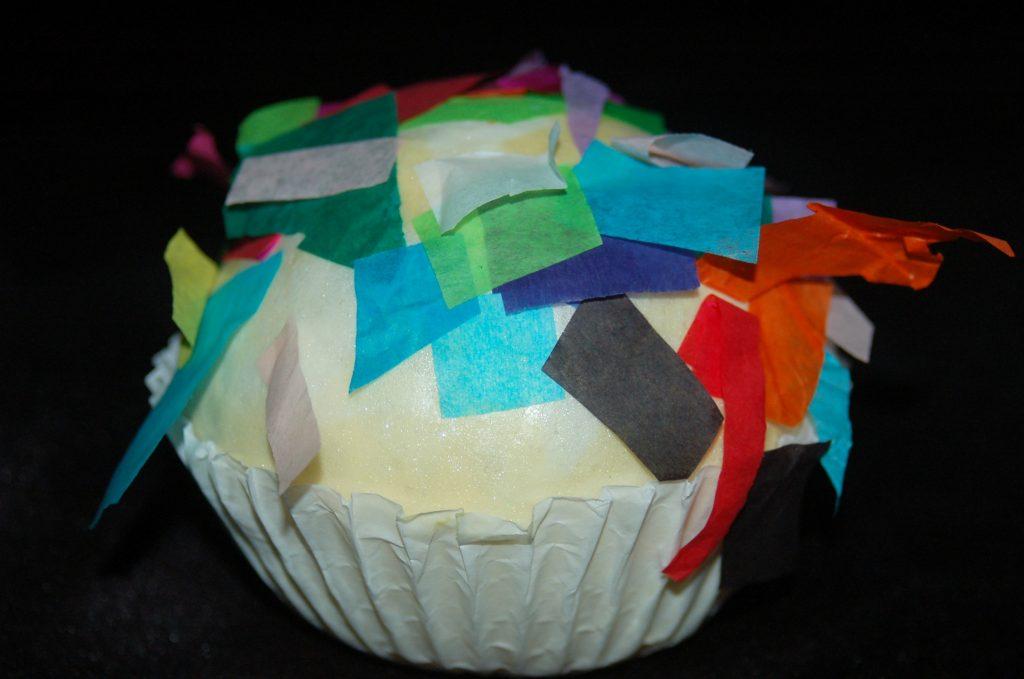 foam insulation cupcake craft