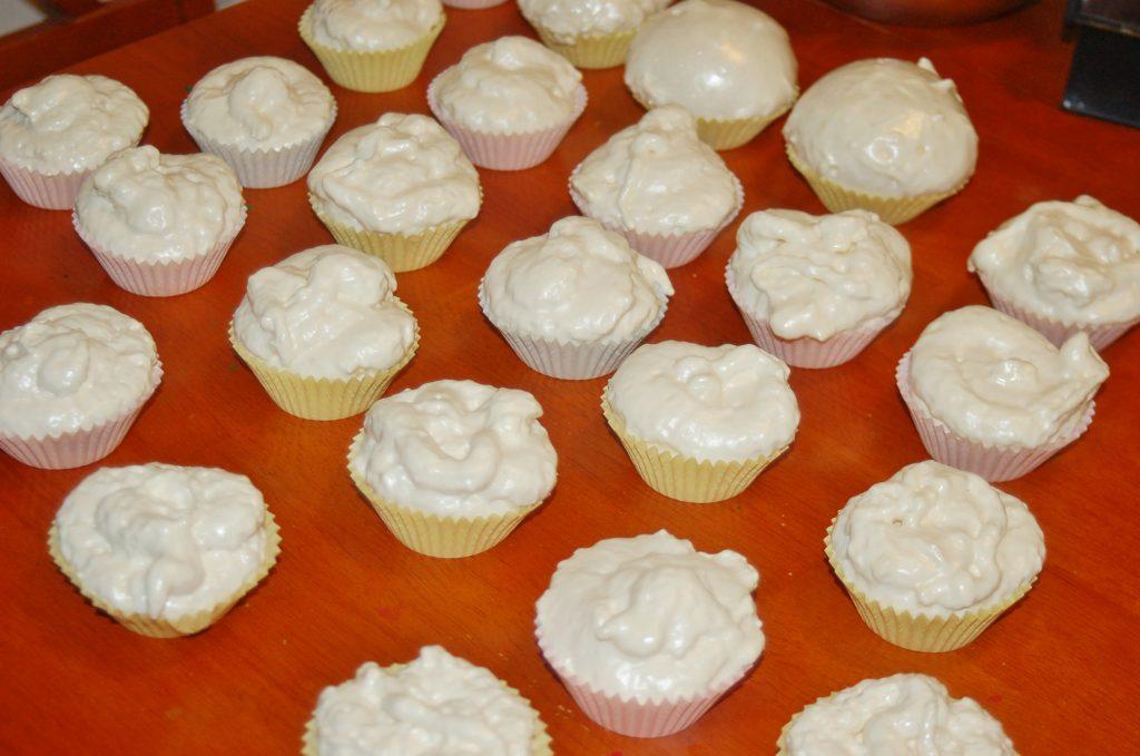 cupcake craft with foam insulation