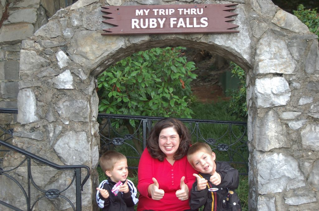 Our Family Trip to Ruby Falls in Chattanooga, Tennessee