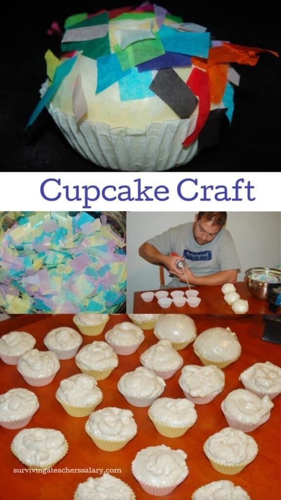 Foam Cupcake Craft