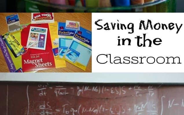 Saving Money in the Classroom