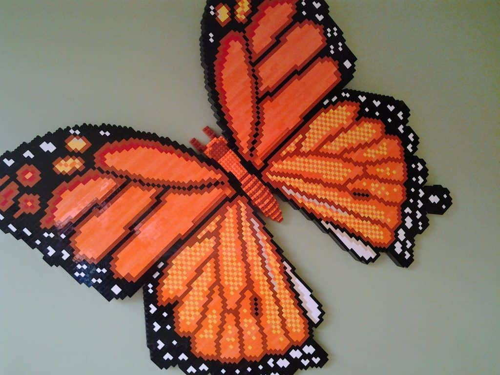LEGO butterfly LEGO