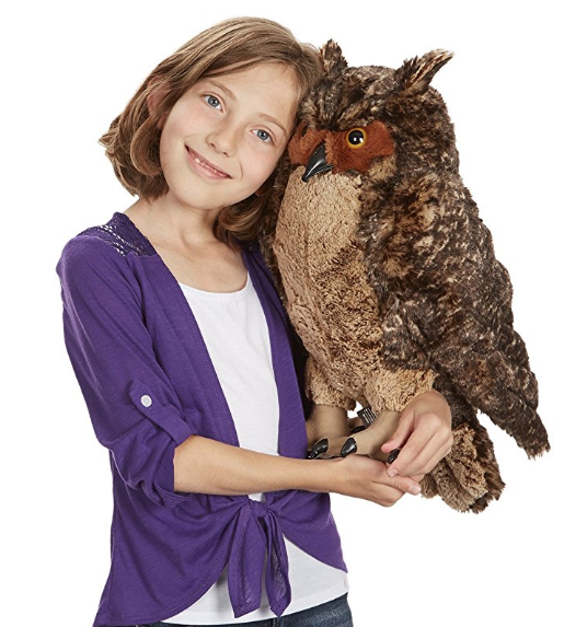 Giant Owl Plush Melissa and Doug