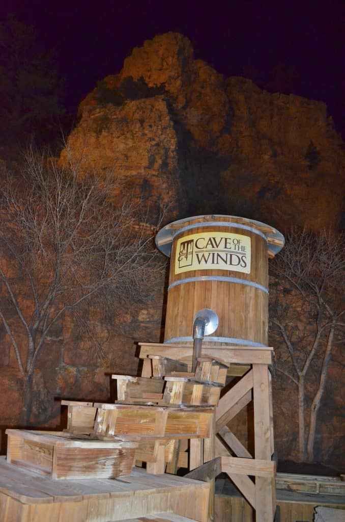 Cave of the Winds in Manitou Springs, Colorado