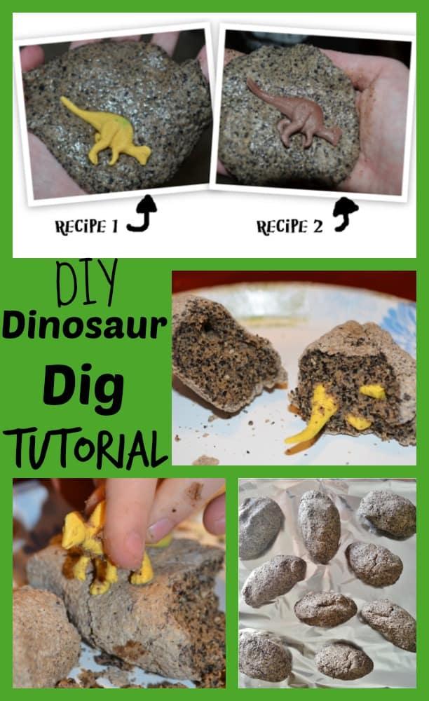 DIY Dinosaur Dig Tutorial