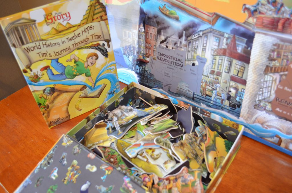 puzz story, puzzle, history
