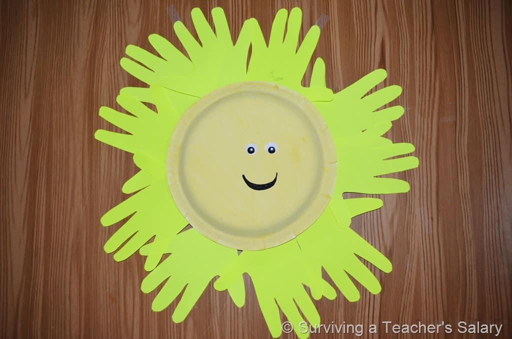 Sunshine Spring Craft For Kids And Preschoolers