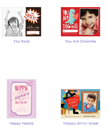 shutterfly classroom valentines cards