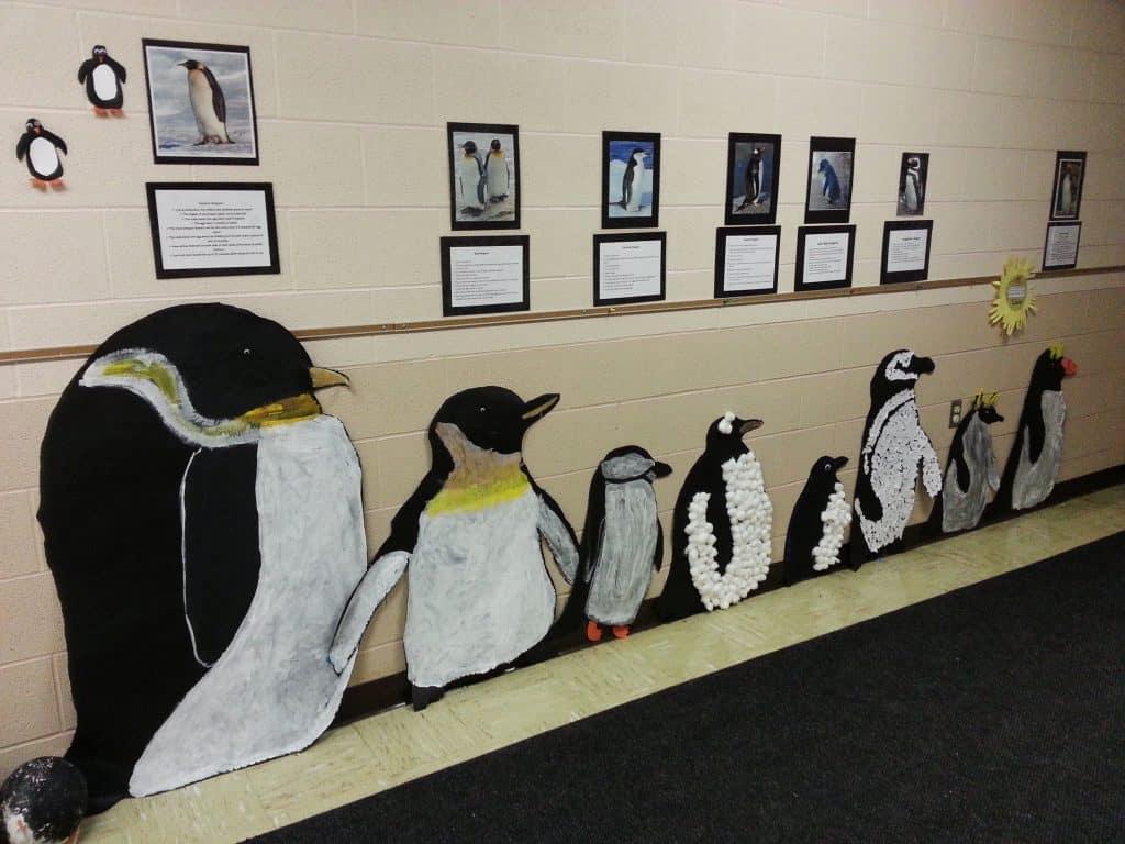 penguin classroom decor activity