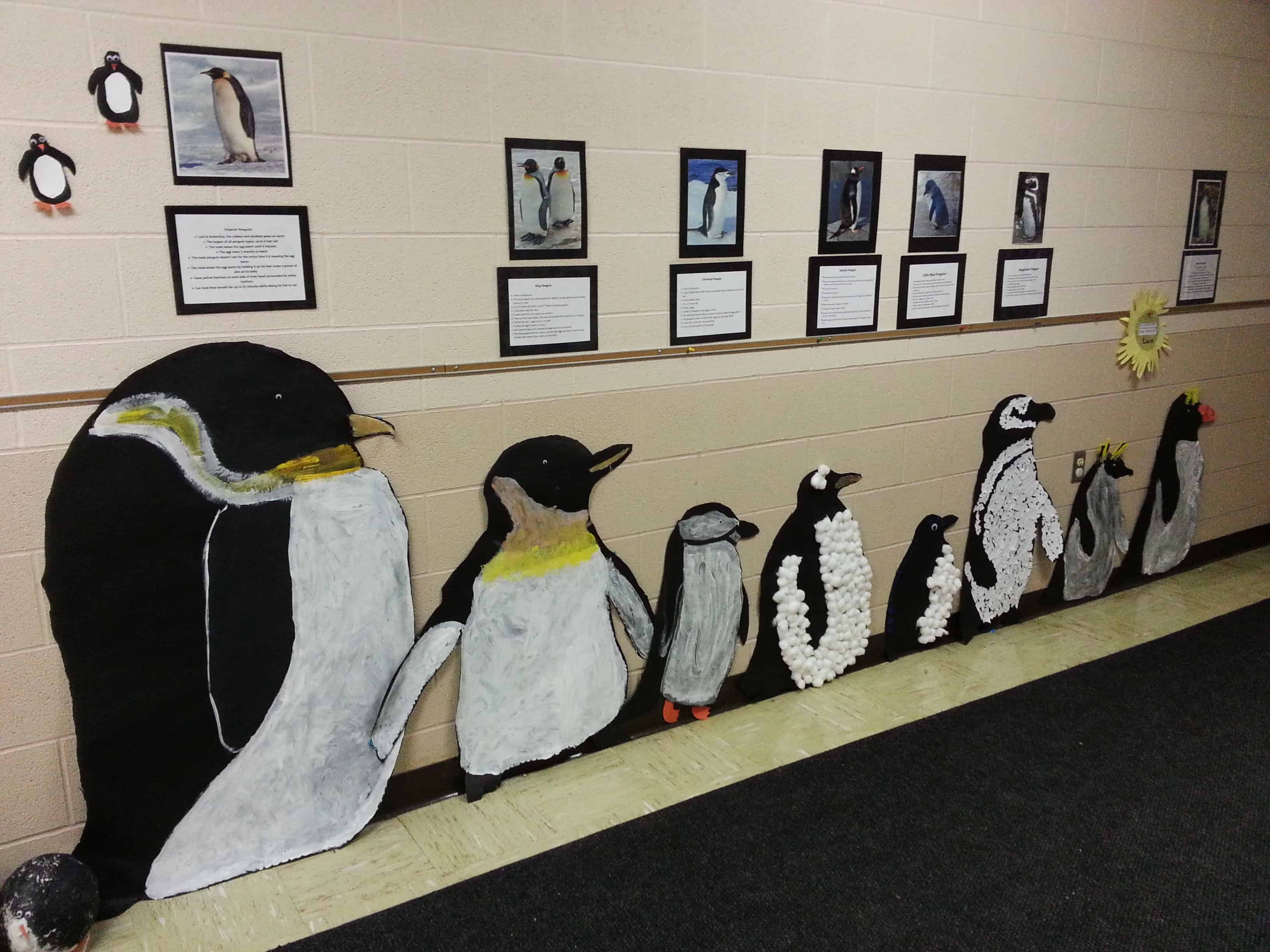 penguin classroom decor activity
