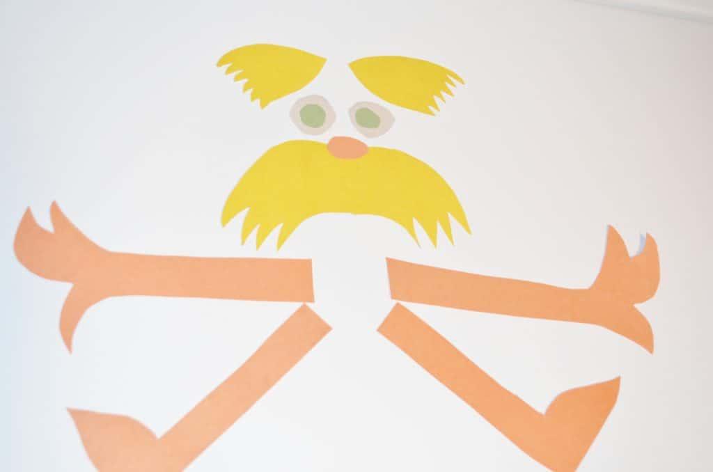 DIY Dr Seuss Lorax Pinata