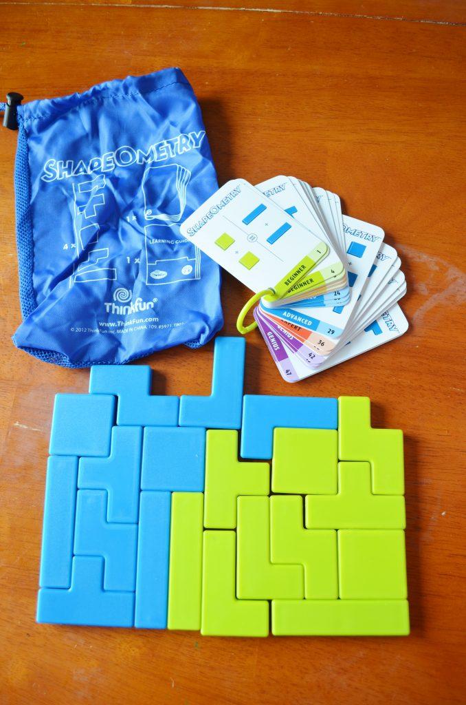 ThinkFun ShapeOMetry game