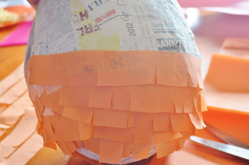 DIY Lorax Pinata Tutorial