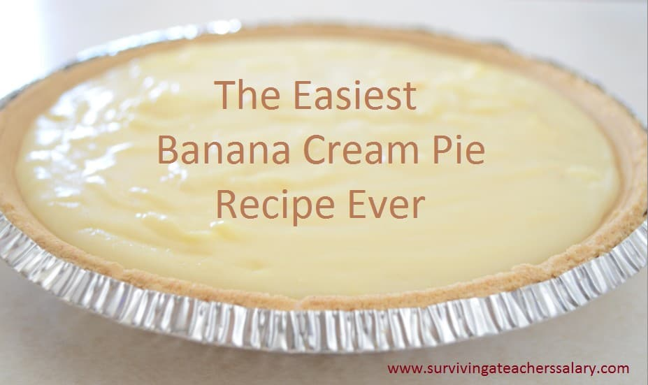 southern banana cream pie recipe