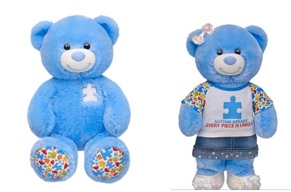 Build a Bear Autism Speaks Bear