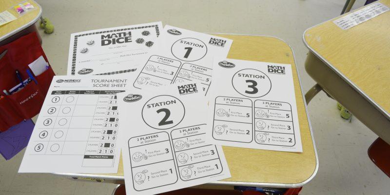 ThinkFun MathDice Tournament Kit