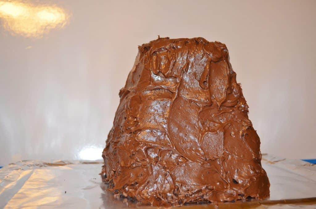 chocolate volcano cake tutorial