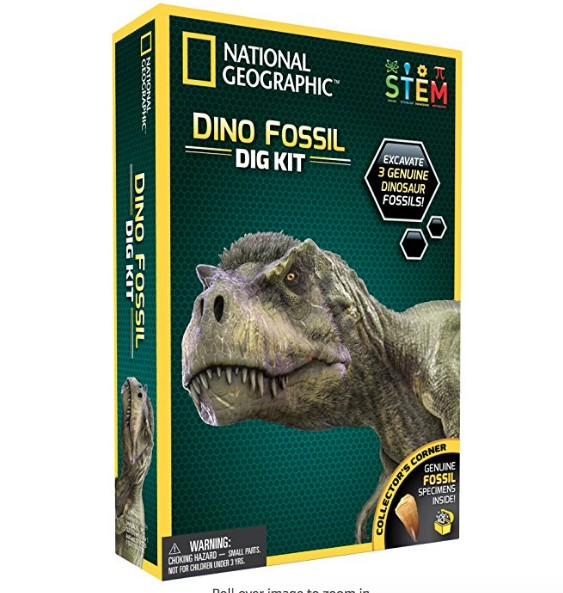 National Geographic Dinosaur Fossil kit