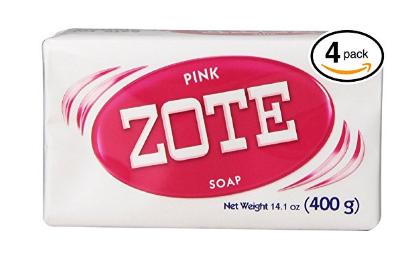 Pink Zote Soap bar in bulk