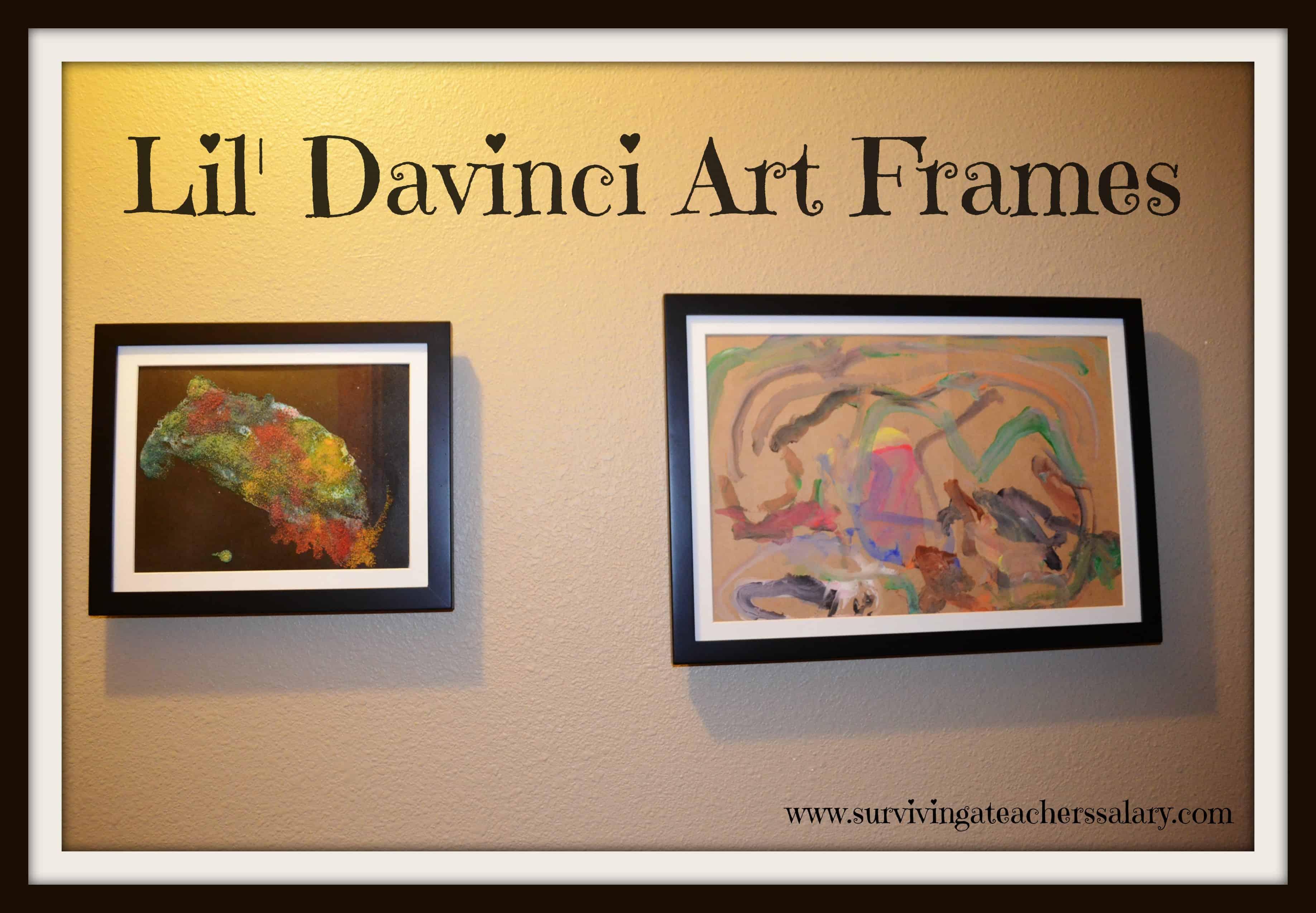 Lil Davinci Art Frames 2