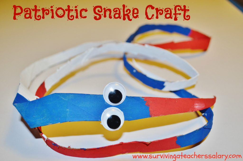 snake craft for kids