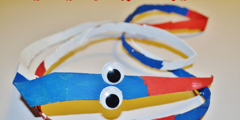 Patriotic 4th of July Snake Craft for Kids
