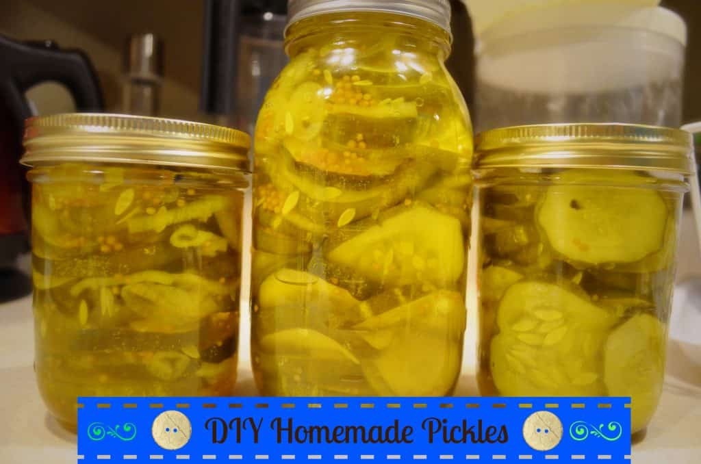diy homemade pickles photo