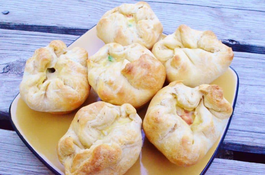Chicken Pot Pie Puffs Recipe
