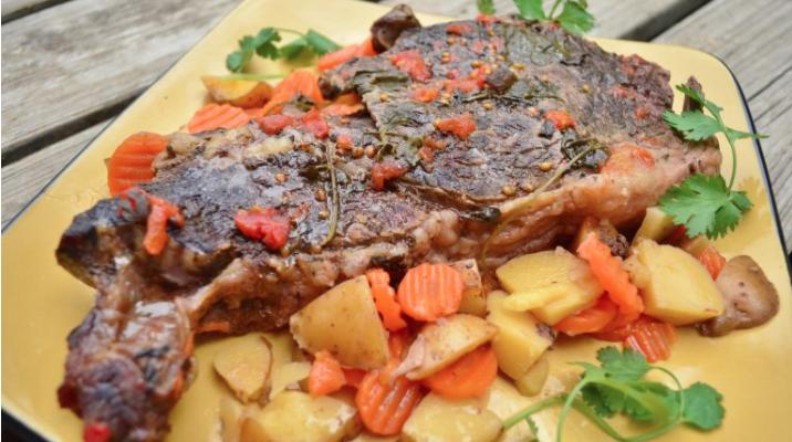 Wine Infused Pork Roast Slow Cooker Recipe