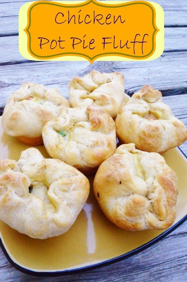 chicken pot pie fluff quick dinner recipe