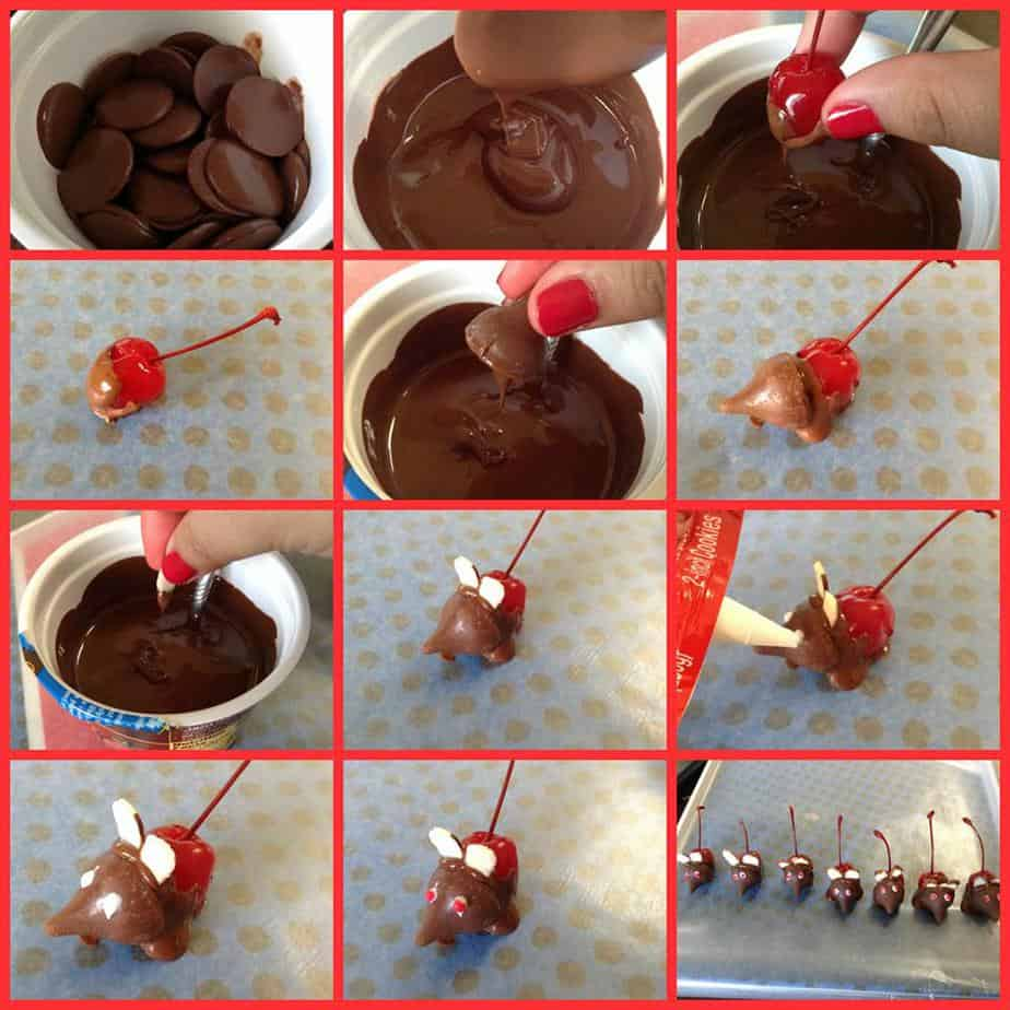 Candy Holiday Mice