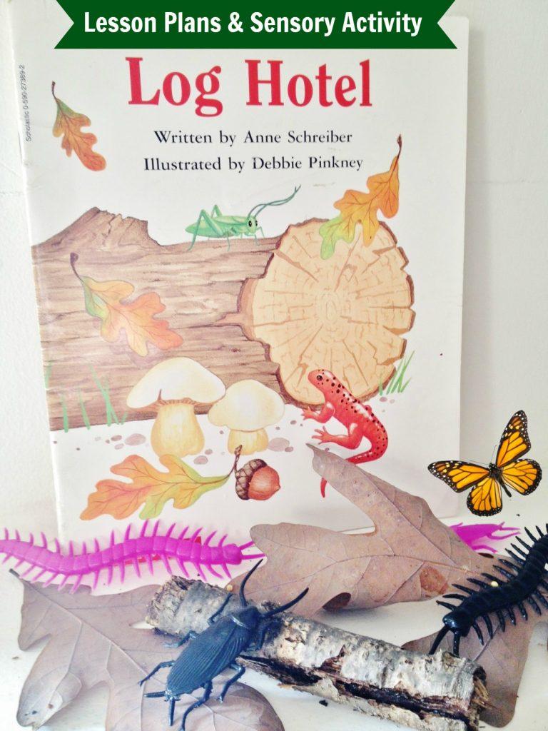 Log Hotel Lesson Plans Sensory Activity