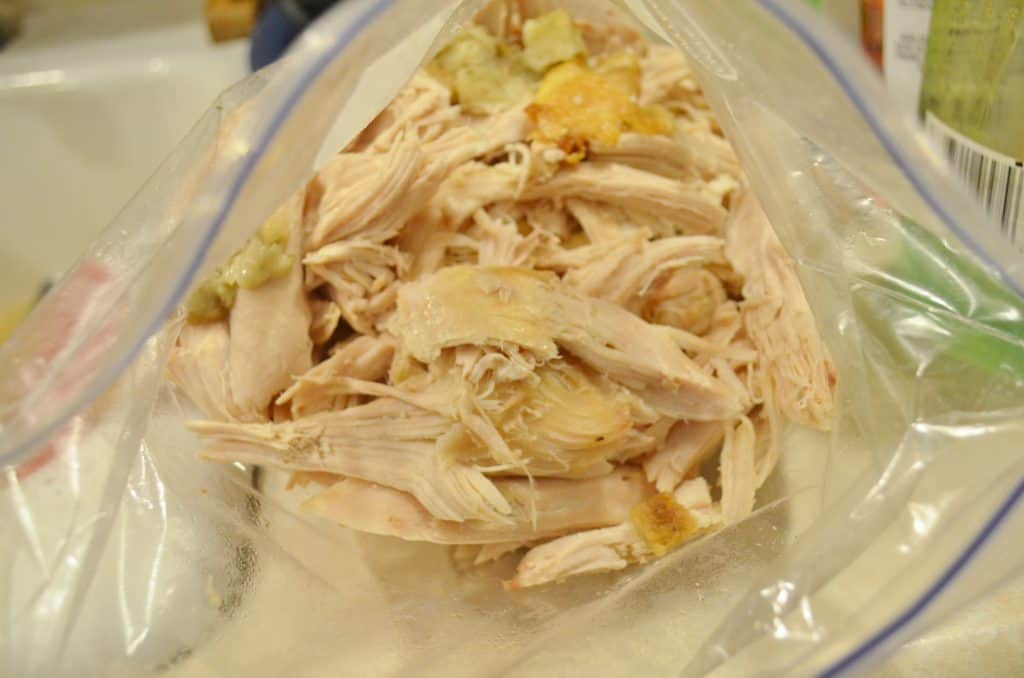 bag of turkey leftover ideas