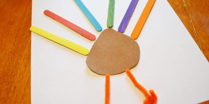 Thanksgiving Turkey Craft for Kids – Gobble Gobble
