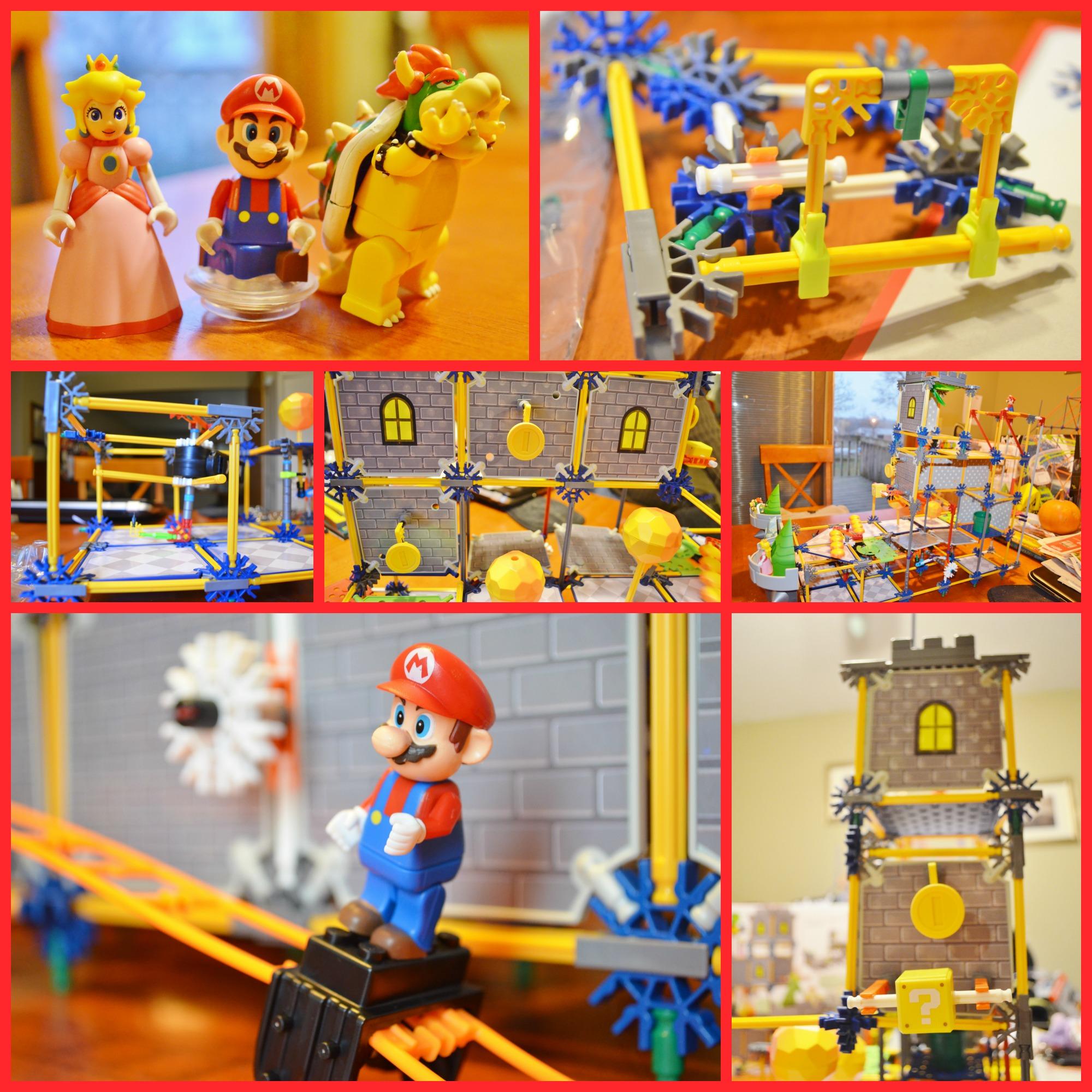 a8133538a9b1 K NEX Super Mario Bowser s Castle Building Set Review